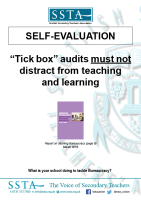 Self-evaluation Poster