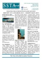 Congress 2015 Newsletter
