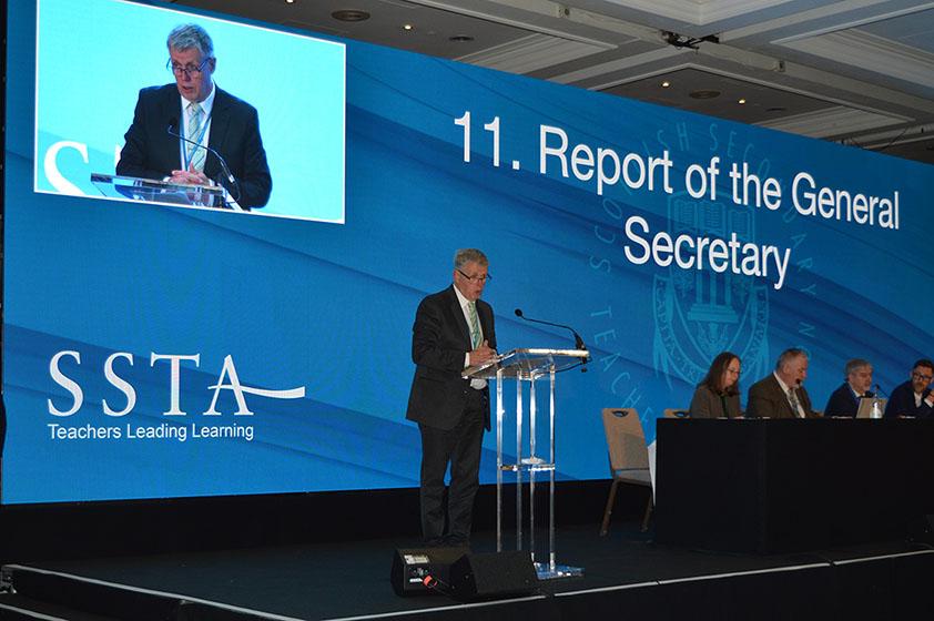 Seamus Searson - Report of General Secretary