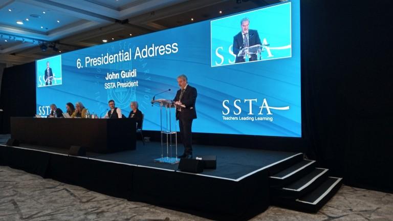 john Guidi president-address